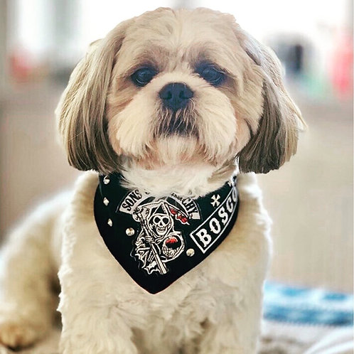 Sons of Anarchy Dog Bandana