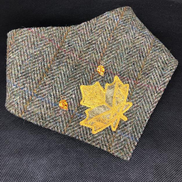 Harris Tweed Autumn Bandana