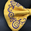 Thumbnail: Embroidered Faux Suede Bow Tie