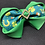 Thumbnail: St Patrick's Day Dog Bow Tie