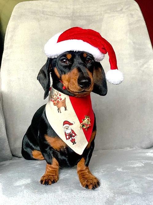 Christmas Bells Dog Bandana