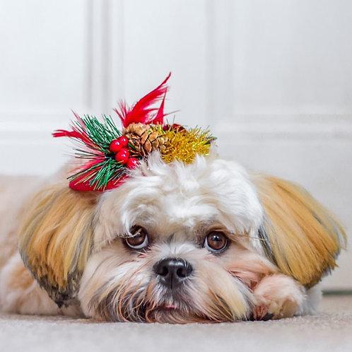 Christmas Doggie Fascinator