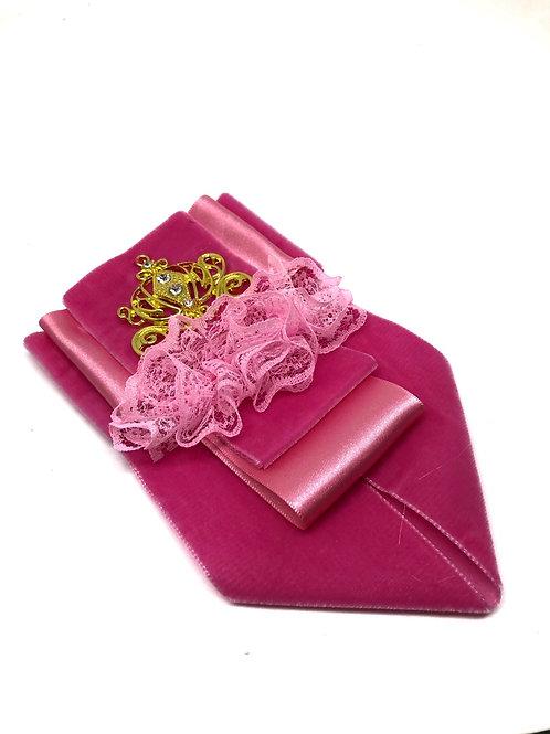 Princess Velvet Jabot Neck Tie