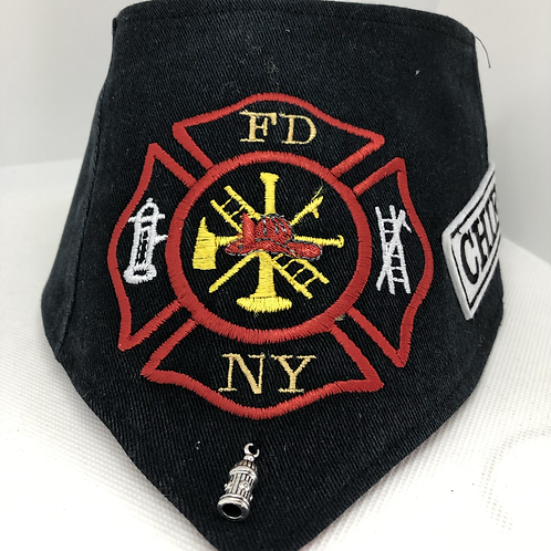 Fire Department Dog Bandana