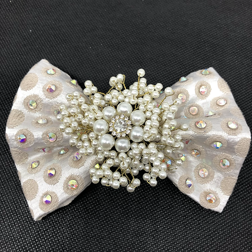 Pearl Bow Tie