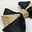 Thumbnail: AristoDog Gold Brocade Bow Tie