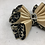 Thumbnail: Fluted Animal Print Kanzashi Bow Tie