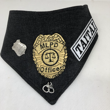 Custom Police Dept Bandana for Taitai