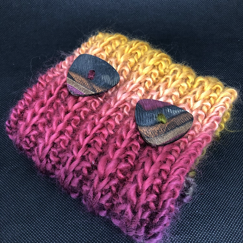 Coral Reef Hand Knitted Dog Snood