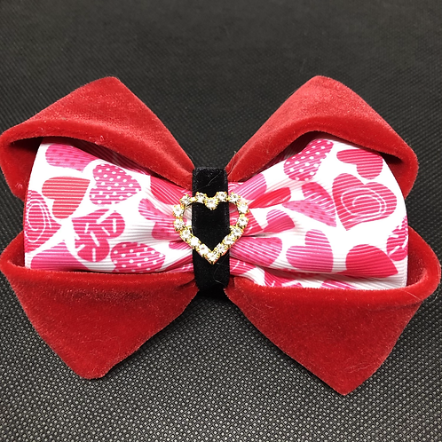 Valentine's Day Dog Bow Tie