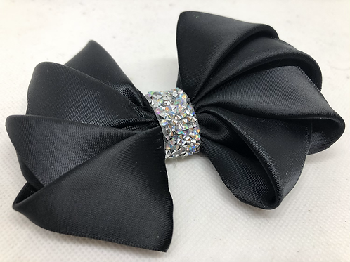 Origami-Inspired Kanzashi Satin Doggie Bow Tie
