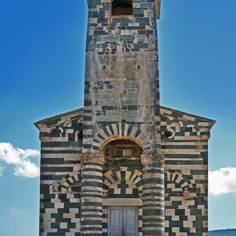 Eglise polychrome Murato