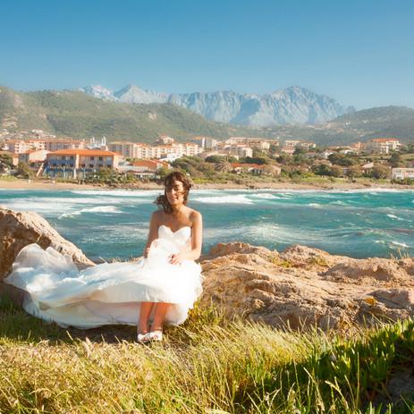 Mariage à l'Ile Rousse Corse