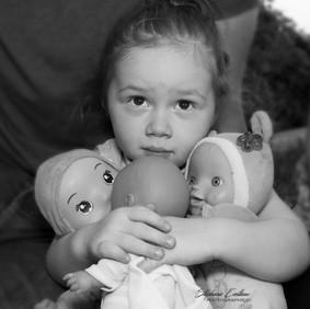 Portrait fillette 2 ans