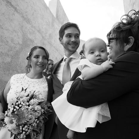 séance photos mariés et invités citadelle de Calvi
