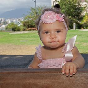 Portrait bébé 8 mois