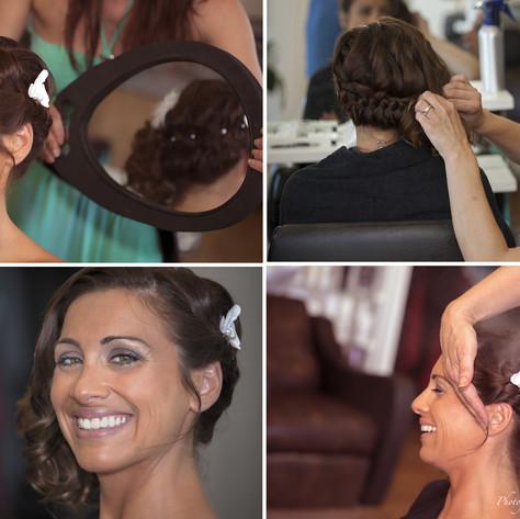 Préparatifs coiffeur