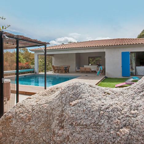 Villa à Sotta sud corse