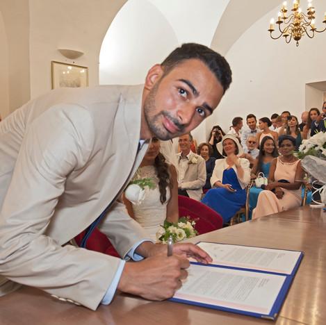 Mariage en Corse / Saveria & Stéphane / mairie de Bastia