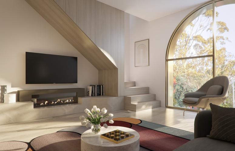 Living Room South Facing