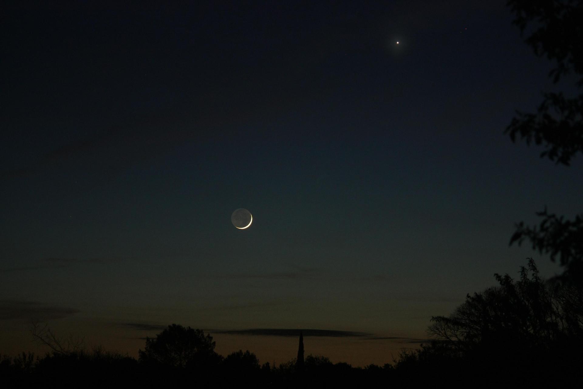 Conjonction Lune-Vénus - proposé par Patricia