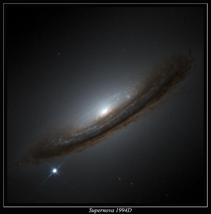Supernova près de NGC4526 - Proposé par Jean-Pierre