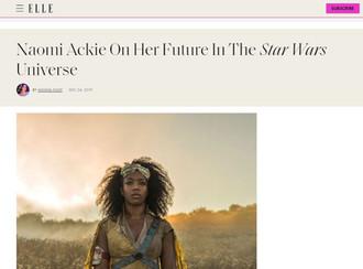 Interview for Elle.com
