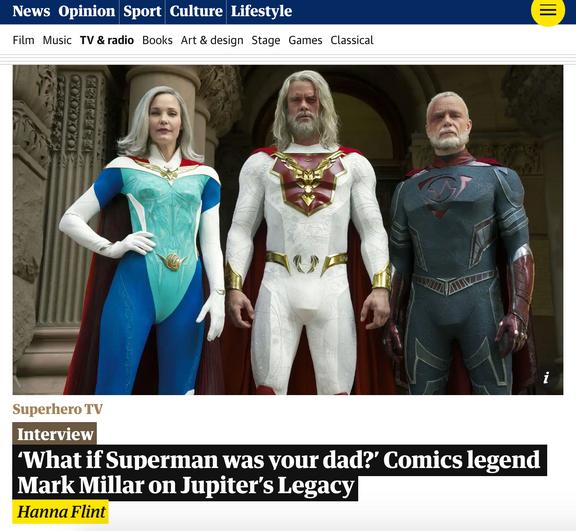 Guardian profile (print/online)