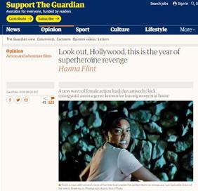 Superheroines - The Guardian