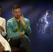 Letitia Wright & Sebastian Stan - Avengers: Infinity War