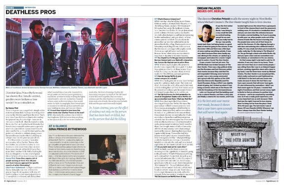 Sight & Sound Interview - Summer 2020 issue