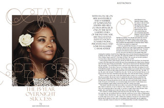 Interview for Red Magazine