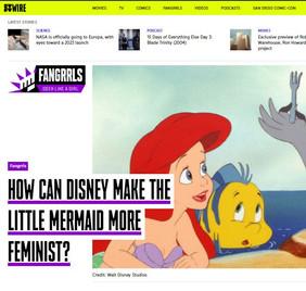 How Can Disney make The Little Mermaid more feminist?
