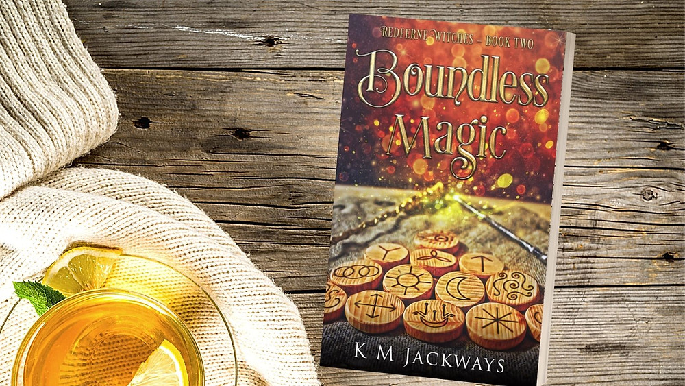 Cover of Boundless Magic, Book 2 of the Redferne Witches series.