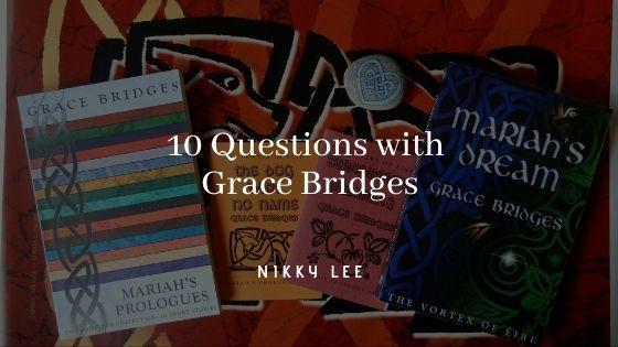 New Zealand author Grace Bridges banner