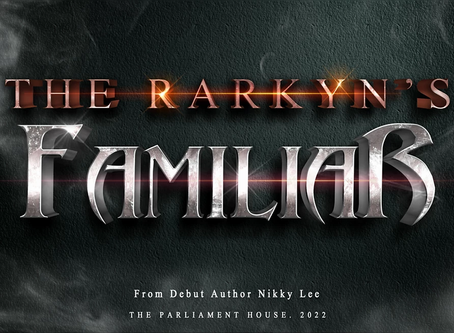 The Rarkyn's Familiar is getting published!