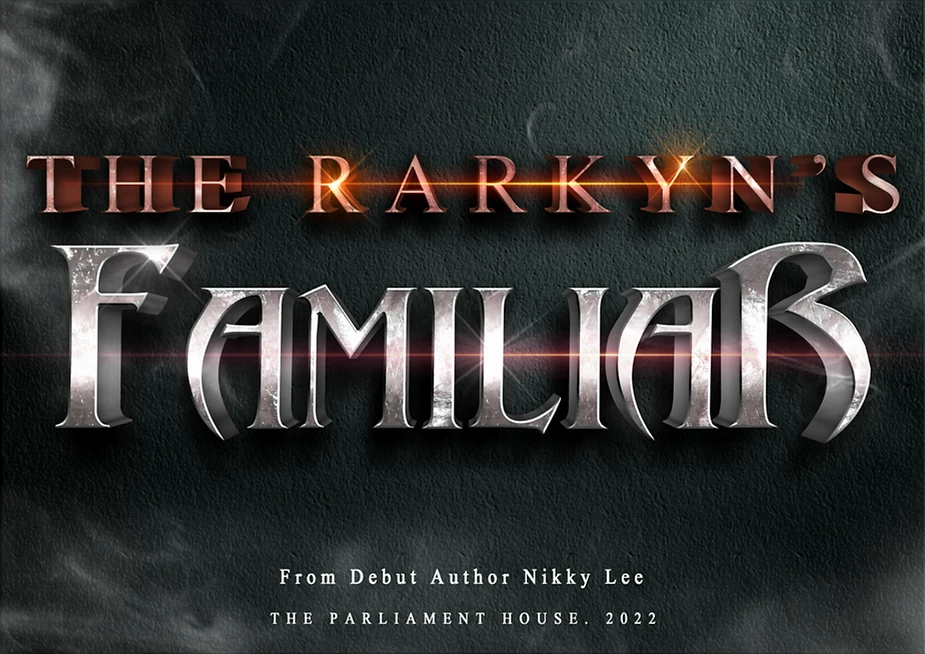 The Rarkyn's Familiar by Nikky Lee title banner