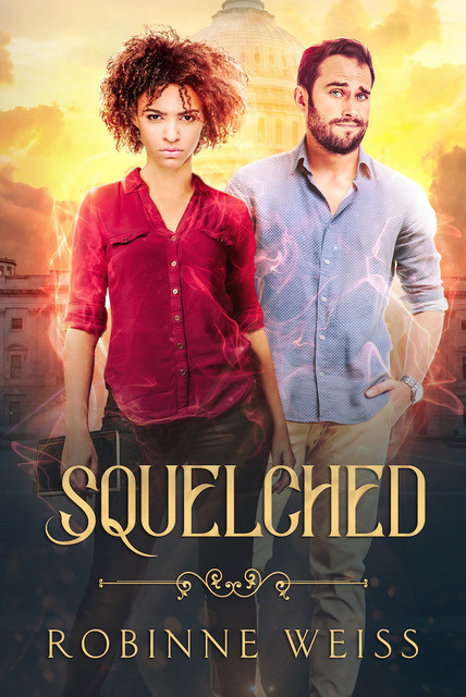 Squelched by Robinne Weiss cover.