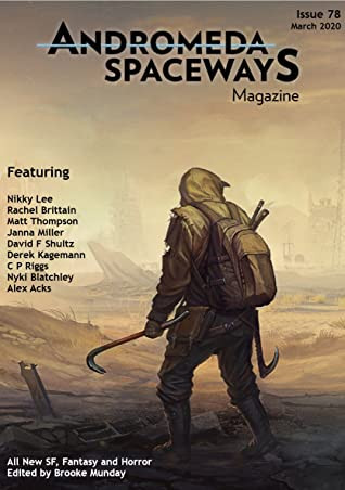 Cover of Andromeda Spaceways Magazine 78, which first published Dingo & Sister.