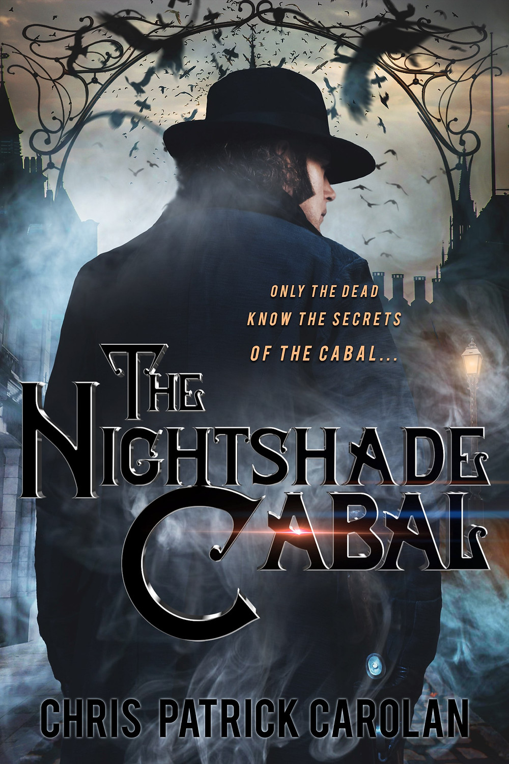 Cover of The Nightshade Cabal by Chris Patrick Carolan