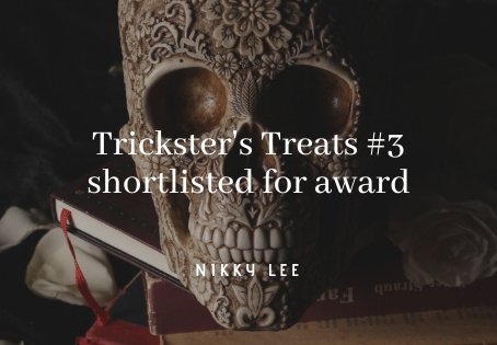 Trickster's Treats #3 shortlisted for award