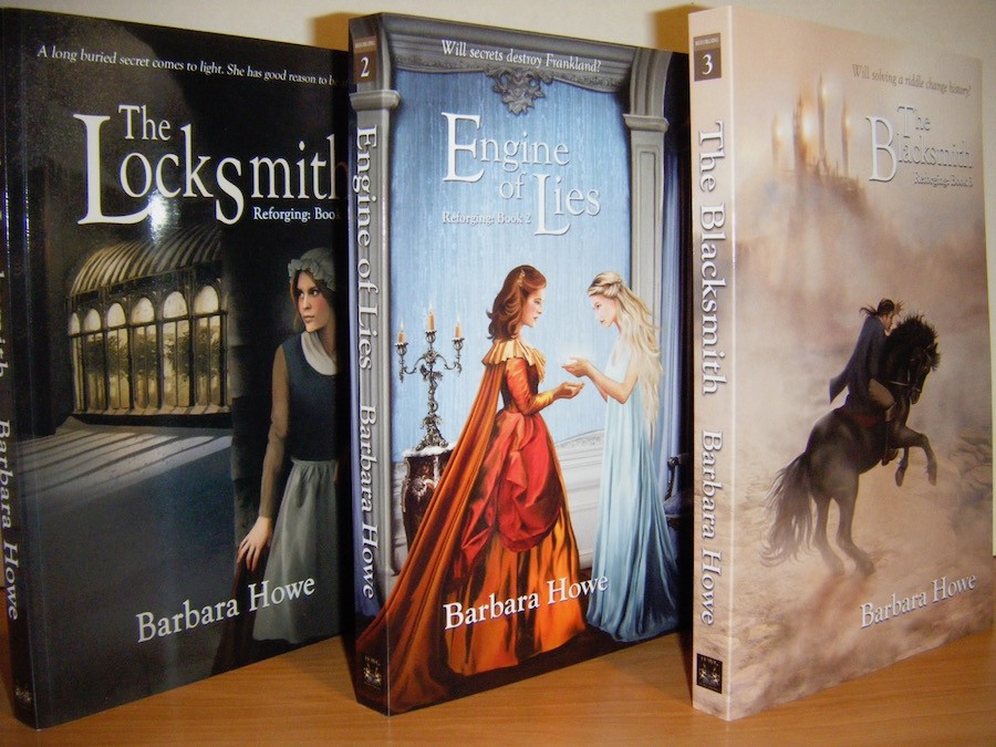 Barbara Howe's Reforging series covers