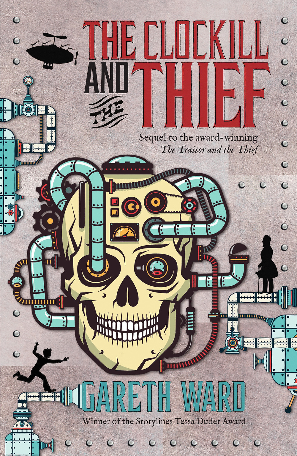 The Clockill and the Thief book cover