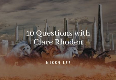 10 Questions with Clare Rhoden
