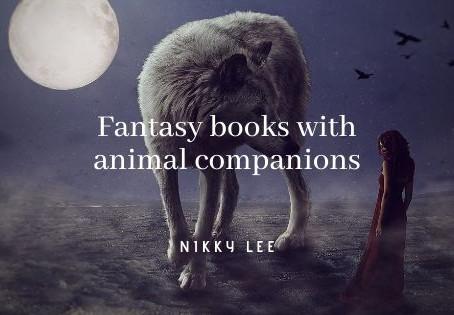 102 fantasy books with animal companions