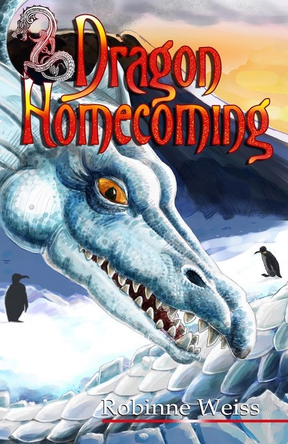 Dragon Homecoming by Robinne Weiss cover
