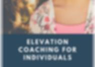 Elevation Coaching - Individuals (3 Nove