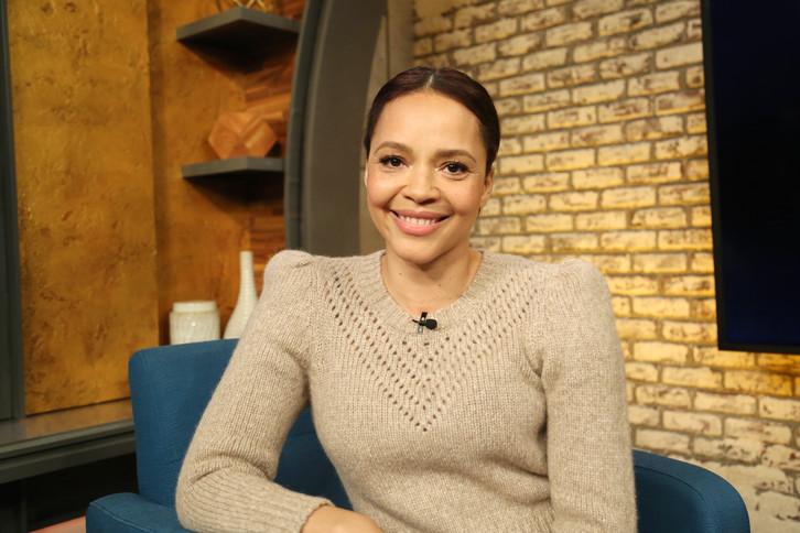 "Carmen Ejogo talks 'True Detective' and co-star Mahershala Ali on ""Popcorn With Peter Travers."" (James Okungu/ABC News)"