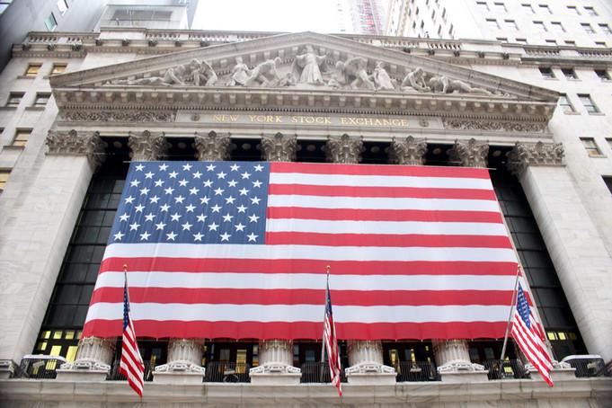 The New York Stock Exchange (NYSE) building.