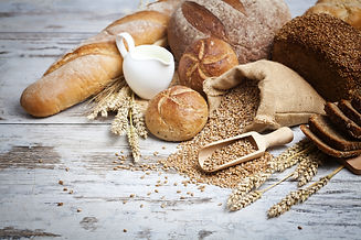 Bakery Bread.Various Bread and Sheaf of